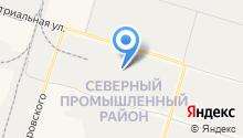 Волга на карте