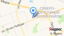Сургутский научно-исследовательский и проектный институт нефтяной промышленности на карте