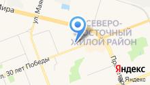 1 отдел службы по Ханты-Мансийскому автономному округу-Югре на карте