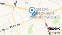 1 отдел службы по Ханты-Мансийскому автономному округу на карте