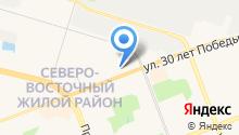 NeoСтрой на карте