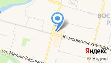 Etalon-Jenavi на карте