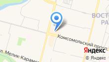 Samsonite на карте