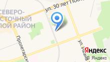 Строительно-монтажное управление №3 на карте