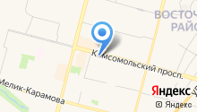 AlphaSite на карте