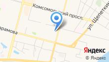 Антрэ на карте