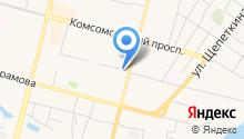 Банкомат, Газпромбанк, филиал на карте