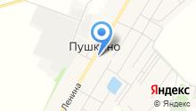 Пушкинский, СПК на карте