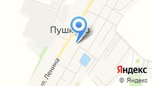 Пушкинская средняя общеобразовательная школа на карте