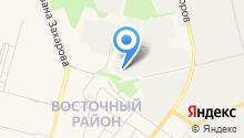 Pldip-Surgut на карте