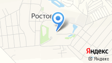Ростовкинское отделение полиции на карте