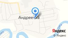 Андреевская библиотека на карте