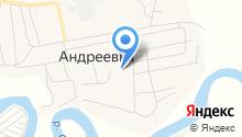 Андреевская средняя общеобразовательная школа на карте