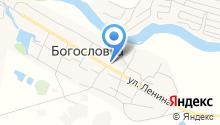 Богословская библиотека на карте
