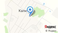 ЖКХ Калининского сельского поселения, МУП на карте