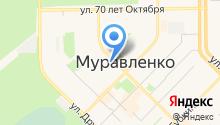 Центральная городская библиотека им В.И. Муравленко на карте