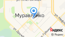 Администрация г. Муравленко на карте