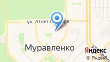 Отдел вневедомственной охраны Управления МВД России по Ямало-Ненецкому автономному округу на карте