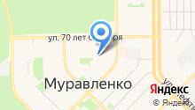 Управление государственного автодорожного надзора по ЯНАО г. Муравленко на карте