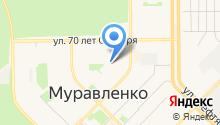 Уголовно-исполнительная инспекция Управления ФСИН России по ЯНАО на карте