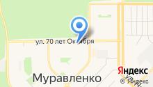 Мировые судьи г. Муравленко на карте