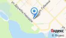 Отдел МВД по г. Муравленко на карте
