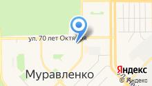 Отдел №6 Управления Федерального казначейства по Ямало-Ненецкому автономному округу на карте