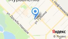 Фонд социального страхования РФ по Ямало-Ненецкому автономному округу на карте