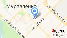 Уральский Вал на карте