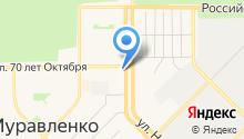 Фонд поддержки субъектов малого и среднего предпринимательства и развития г. Муравленко, НО на карте