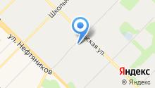 Муравленковские коммунальные системы на карте