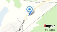 Ноябрьская дистанция пути на карте