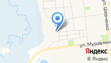 Автомастерская на Багульной на карте