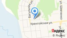 Ноябрьское ремонтно-строительное управление на карте
