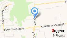 Звезда Ямала, ТСЖ на карте