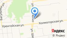 Киевский на карте