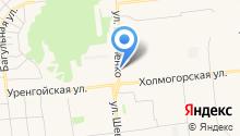 Цветы на Киевской на карте