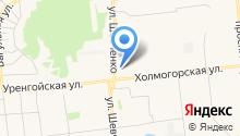 Магазин овощей и фруктов на ул. Шевченко на карте