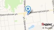 Урал без наркотиков на карте