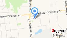 Адвокатские кабинеты Орловской Ю.Н. и Симанцова Ф.А. на карте