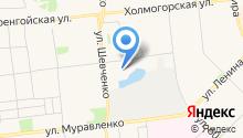Паспортный стол на карте