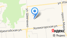 На Киевской на карте