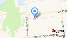 Трансгаз на карте