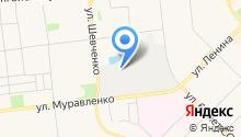 Рихтовочный центр на карте