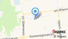 Спортивно-технический клуб, МБУ на карте