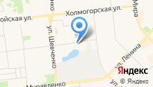 Цветы Украины на карте