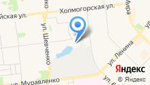 Мастерская по ремонту обуви и заточке инструментов на Киевской на карте