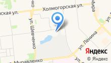 Магазин овощей и фруктов на Киевской на карте