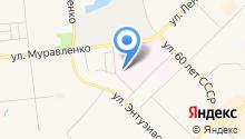 Ямальский многопрофильный колледж на карте