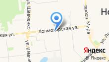 Сибирский цирюльник на карте